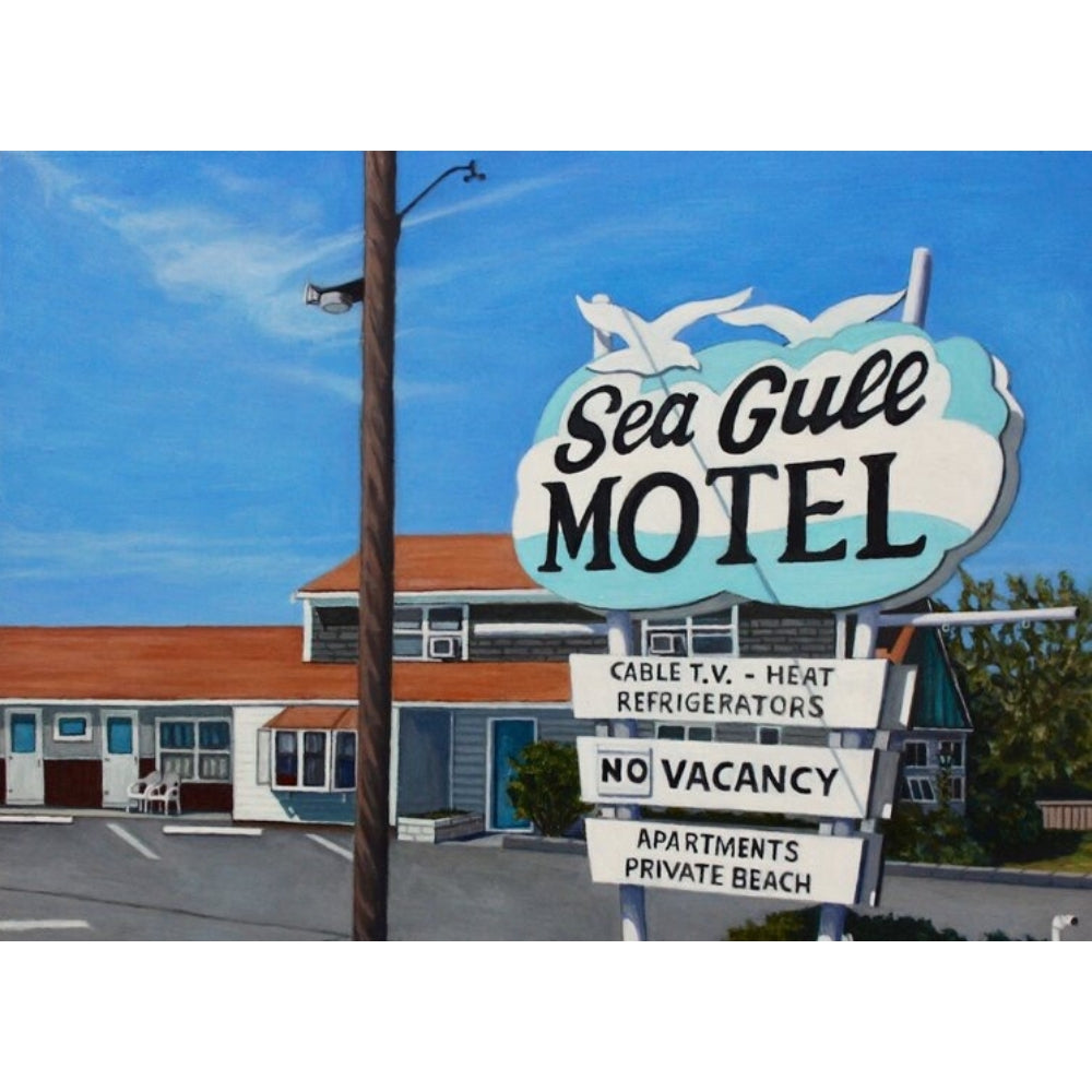 Kate Ryan Art - Sea Gull Motel