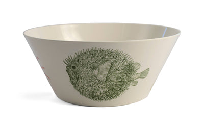 Sealife Large Serving Bowl