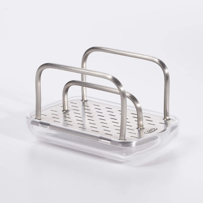 compact stainless steel sponge holder