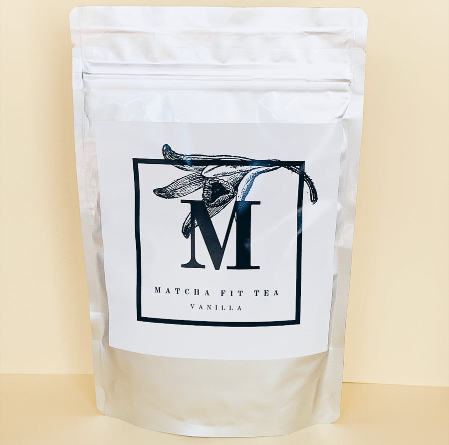 Organic Vanilla Matcha Green Tea Powder