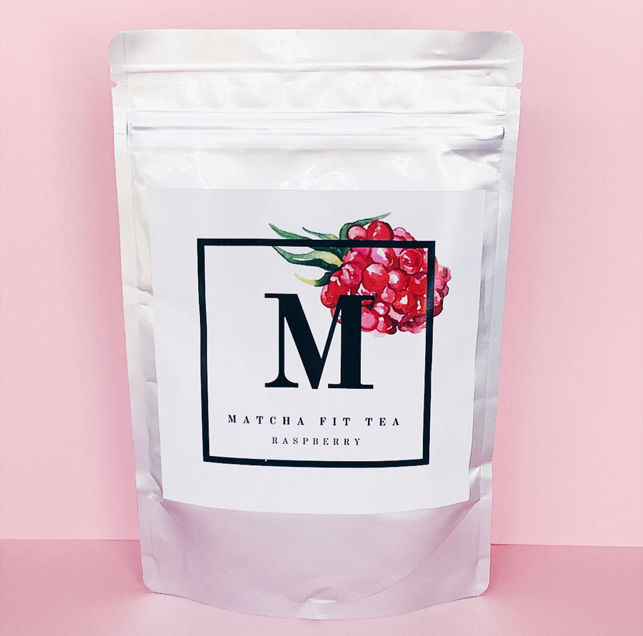 Organic Raspberry Matcha Green Tea Powder