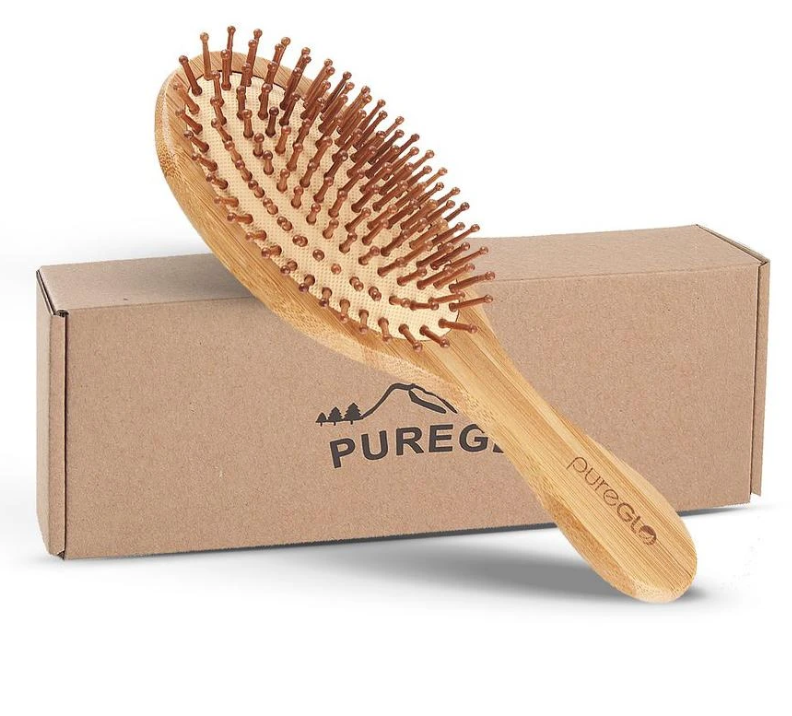 Why Use PureGLO Bamboo Hairbrush?