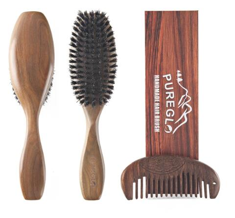How To Clean Your Wooden Bristle Hairbrush Naturally