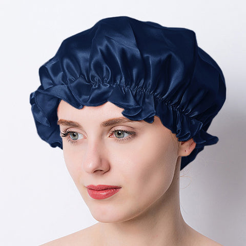 Adjustable 100% Silk Night Sleeping Hair Wrap