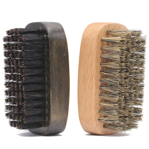 Boar Bristle Travel Beard Brush 2 Packs