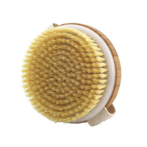 Natural Bamboo Bristle Body Bath Brush