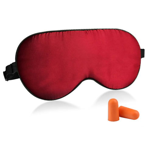 Natural Silk Sleep Mask With Adjustable Straps