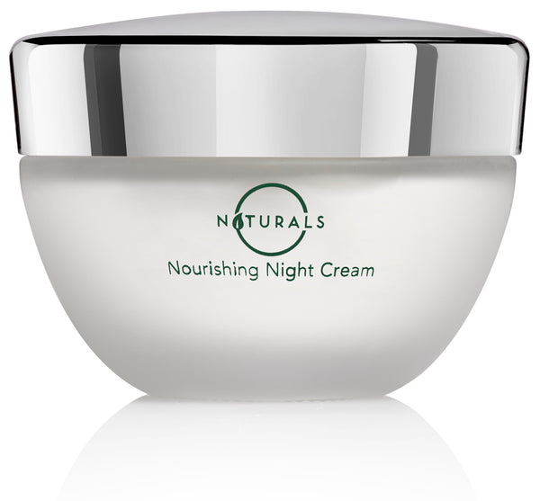 O Naturals Nourishing Night Crime. An anti-aging night cream that moisturizes with Hemp Oil.