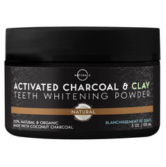 O Naturals Activated Charcoal Tooth Whitening Powder is innovatively designed to brighten your teeth and give them a quality, deep-cleaning treatment.
