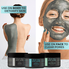 Dead Sea Mud Mask Collection