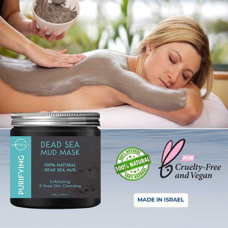 Detoxifying Dead Sea Mud Mask - O Naturals