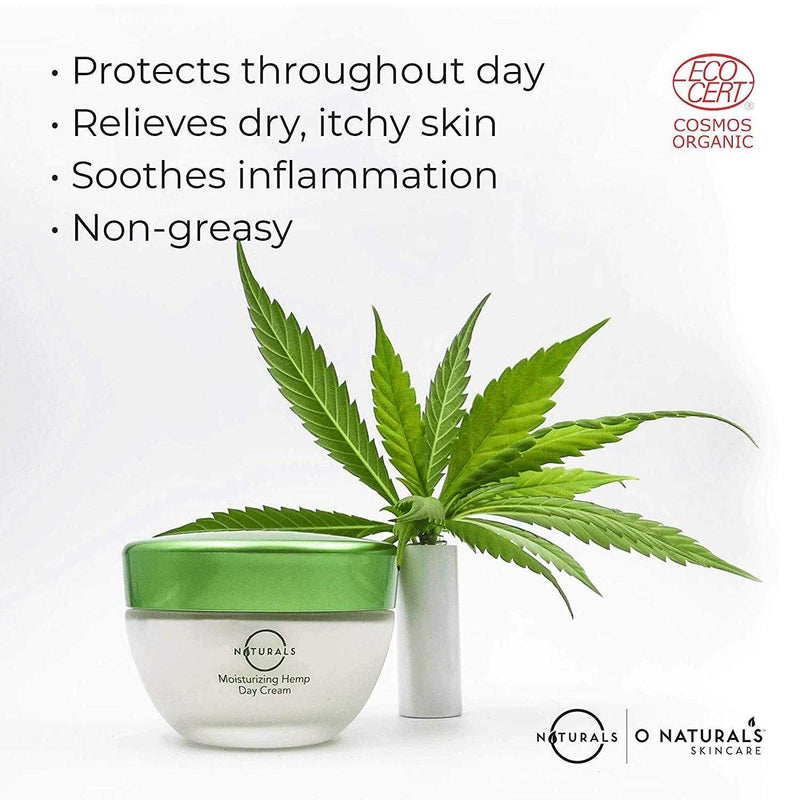 Moisturizing Hemp Day Cream - O Naturals