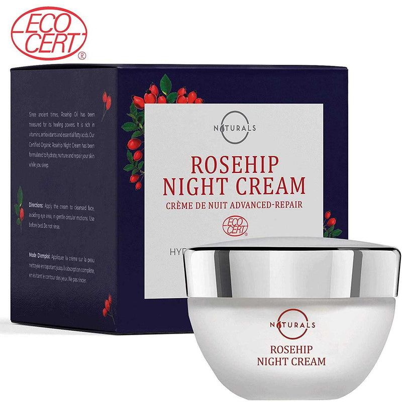 Rosehip Night Cream - O Naturals