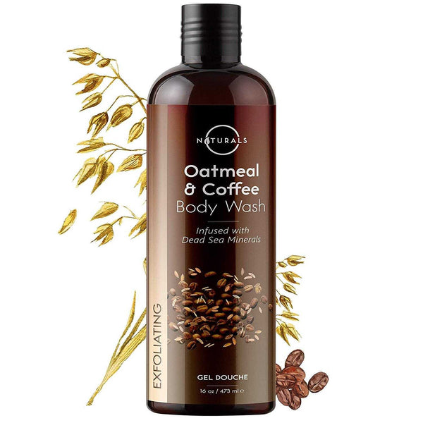 Exfoliating Oatmeal & Coffee Natural Body Wash - O Naturals