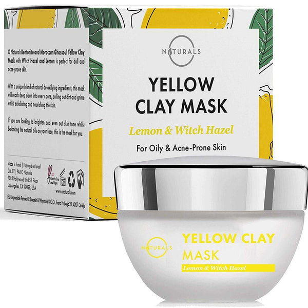 Yellow Bentonite Clay Mask for Acne - O Naturals