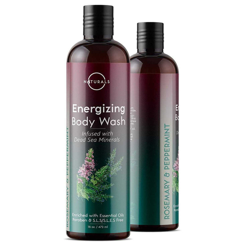 Energizing Rosemary & Peppermint Body Wash - O Naturals