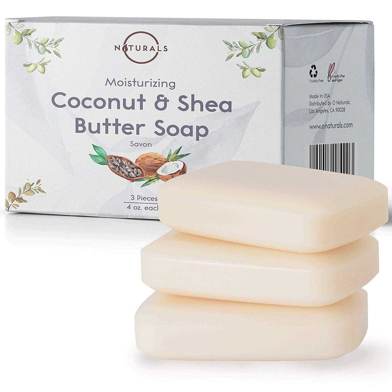 Coconut & Shea Butter Bar Soap - O Naturals