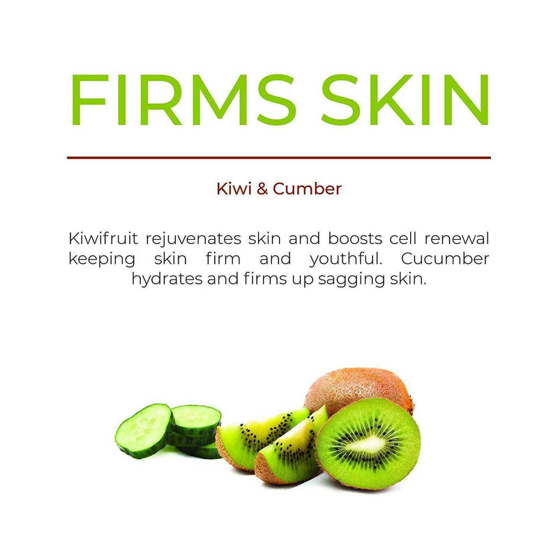 Anti-Aging Kiwi & Vitamin E Gel Face Mask - O Naturals