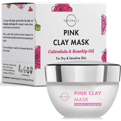 Pink Clay Mask with Kaolin Clay - O Naturals