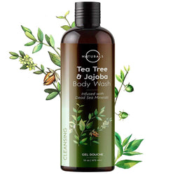 Antifungal Tea Tree & Jojoba Natural Body Wash - O Naturals
