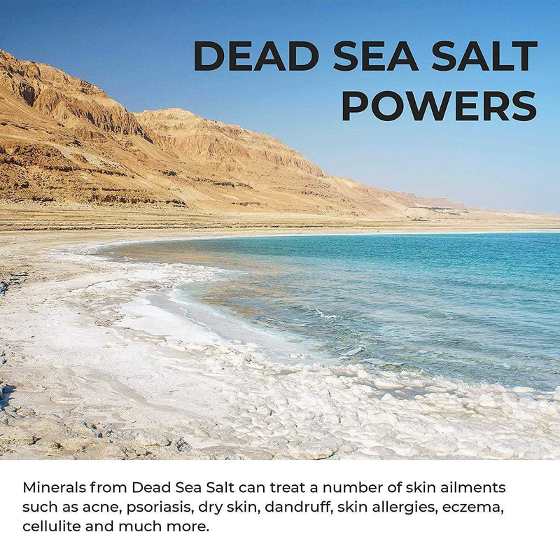 Activated Charcoal Dead Sea Salt Scrub - O Naturals