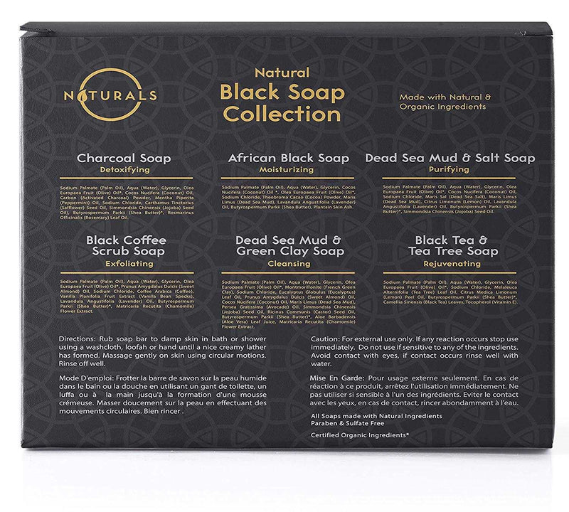 Black Soap Collection - O Naturals