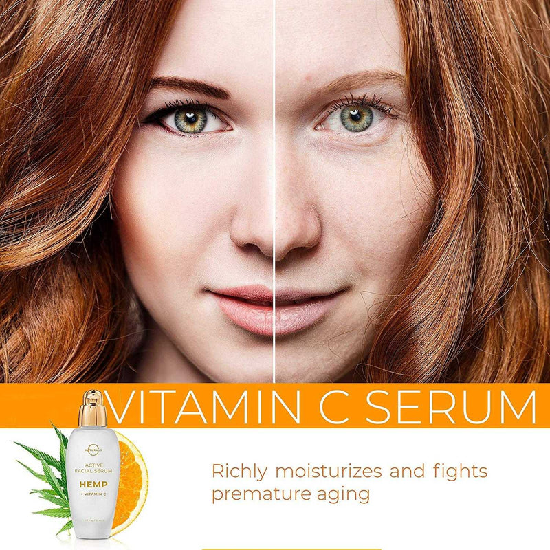 Anti-Aging Vitamin C Face Serum - O Naturals