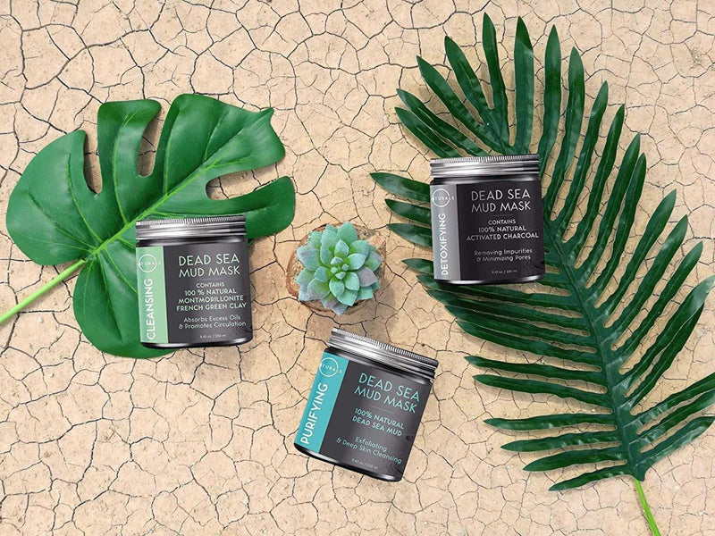 Cleansing Dead Sea Mud Mask - O Naturals
