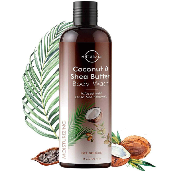 Moisturizing Coconut & Shea Butter Natural Body Wash - O Naturals