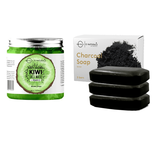 Activated Charcoal Bar Soap + 1 Gel Face Mask