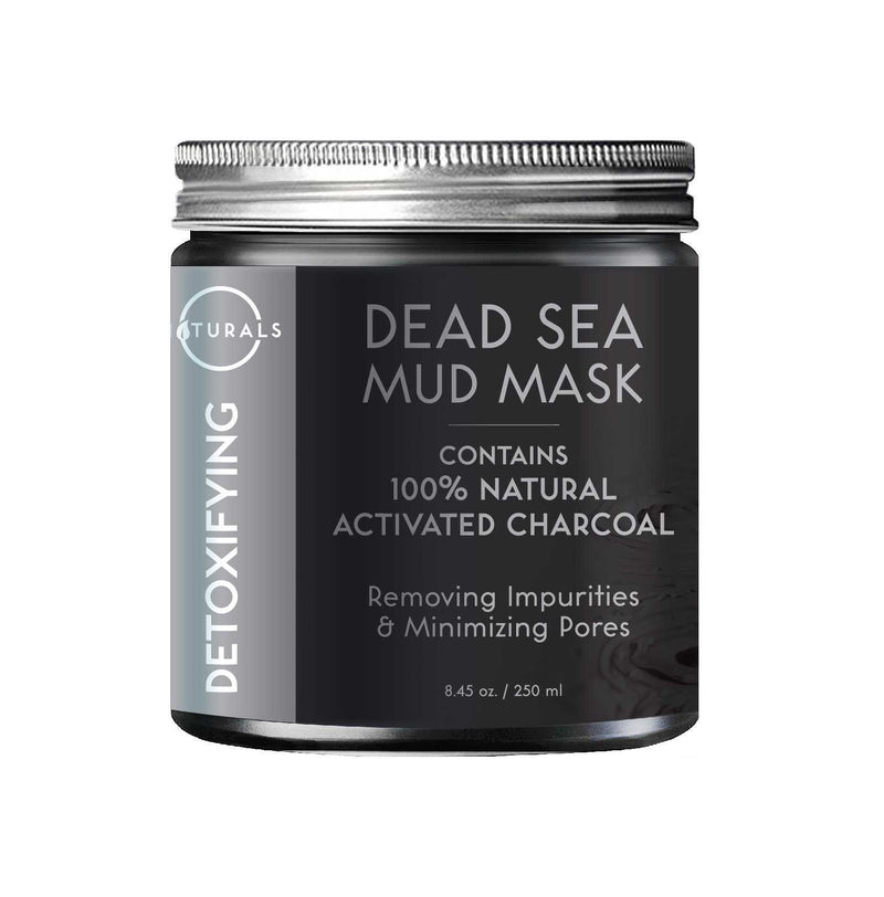 Detoxifying Dead Sea Mud Mask with Activated Charcoal - O Naturals