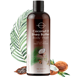 Moisturizing Coconut & Shea Butter Body Wash