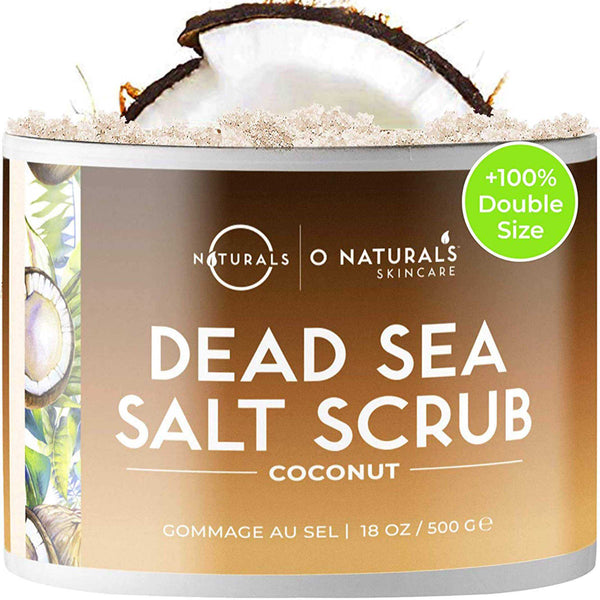 Coconut Dead Sea Salt Scrub