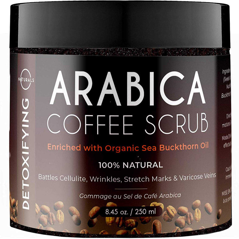 Exfoliating Coffee Scrub with Dead Sea Salt