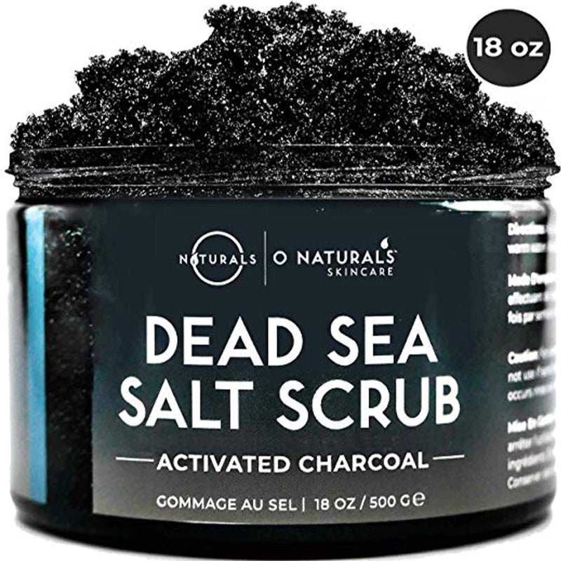 Activated Charcoal Dead Sea Salt Scrub