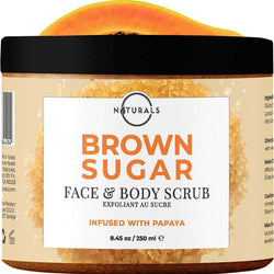 Brown Sugar Body Scrub - O Naturals