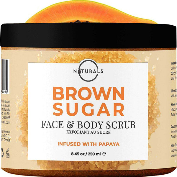 Brown Sugar & Papaya Scrub - O Naturals