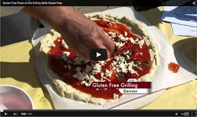 Gluten-Free Grilled Pizza & Pizza Crust