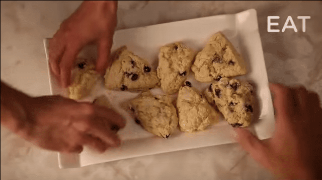 How to make Gluten-Free Blueberry Scones by Bella Gluten-Free