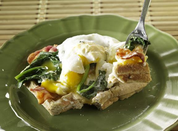 Multigrain Waffles with Eggs Benedict Recipe by Bella Gluten Free