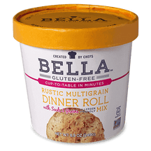 Rustic Multigrain Dinner Roll Mix - bellaglutenfree