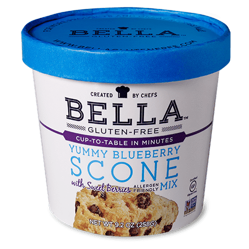 Yummy Blueberry Scone Mix - bellaglutenfree