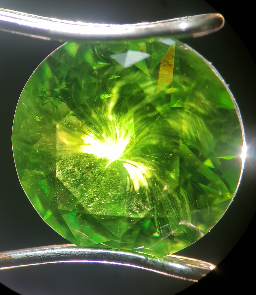 Why we love: Demantoid Garnets