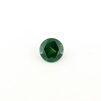 1.70ct Round Faceted Demantoid Garnet 7.2mm