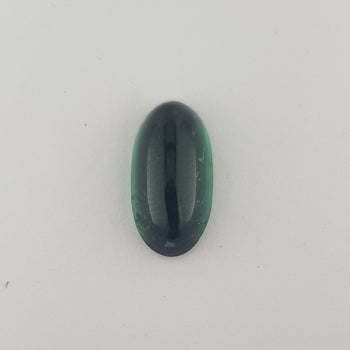 5.90ct Oval Cabochon Tourmaline 15.8x8.1mm