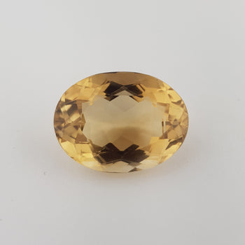 36.18ct Oval Faceted Citrine 26x20mm