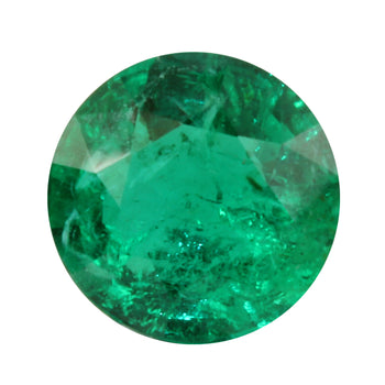 2.02ct Round Emerald 8.5mm