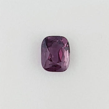 3.12ct Cushion Cut Pinkish Purple Spinel 9.1x7.3mm
