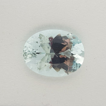 11.58ct Oval Faceted Aquamarine 18x13.9mm