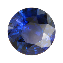 2.39ct Round Faceted Sapphire 8.3mm
